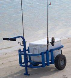24 Splendid Fishing Rod Holder For Boat Fishing Rod Holder For Truck Bed Beach Fishing Cart, Diy Fishing Bait, Beach Cart, Surf Fishing, Salmon Fishing, Fishing Boats, Fishing Lures, Saltwater Fishing, Fishing Bobbers