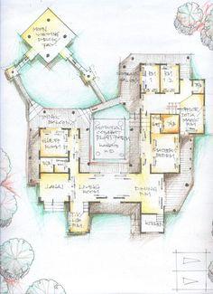 traditional japanese house floor plan - Google Search | floorplans ...