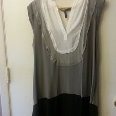 Classy Dress White,Grey and Black Classy Dress BCBGMaxAzria Dresses