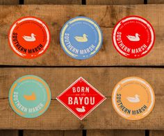 Southern Marsh Collection — Southern Marsh Sticker