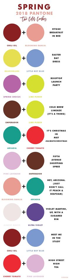 2018 pantone 2 color combos!  Loving these complementary color predictions..  #pantonecolor2018 #color #complimentarycolors https://www.facebook.com/groups/lularoejackiesapko/