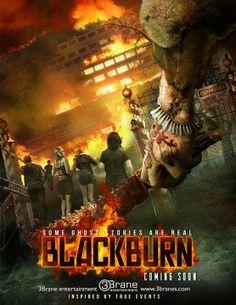 Movie poster for Blackburn, predominantly featuring Calum's bottom XD