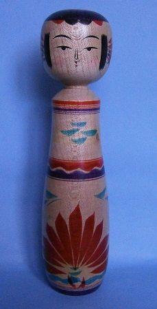 Inoue Harumi 井上はるみ (1955- ), Master Inoue Yukiko, 7寸 (21.2 cm), 1998, Yajiro, boats pattern