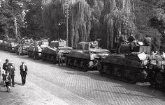 British Shermans, Veghel, Holland