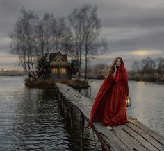 Story Inspiration: Little Red Riding Hood Fantasy Photography, Portrait Photography, Vision Photography, Fairy Tale Photography, Whimsical Photography, Winter Photography, Story Inspiration, Character Inspiration, Images Esthétiques