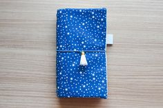 Night Star Traveler Notebook Midori standard size by Catisfy
