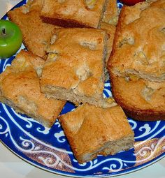 Look Beyond The Picket Fence: Apple Brownies