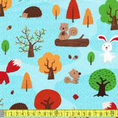 Forest Playground Woodland Scene Lake Blue from Frumble