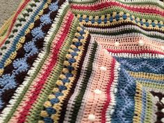 Ravelry: riverderby's Fun Stripe Blanket