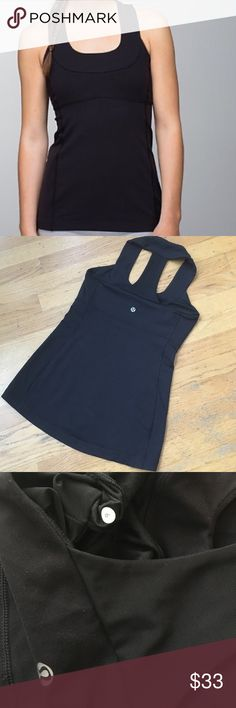 Lululemon Scoop Neck Super Cute Scoop neck Tank. In very good condition. Tag has been removed. lululemon athletica Tops Tank Tops