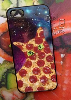 Pizza Cat Case | Community Post: 11 Phone Cases For The Food Obsessed