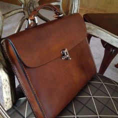 This dark brown color is becoming very popular and shows the natural grain of the leather This genuine leather all hand crafted case is perfect for any meeting or carrying Leather Laptop Bag, Leather Briefcase, Leather Backpack, Laptop Backpack, Leather Handle, Leather And Lace, Leather Men, Leather Jackets, Pink Leather