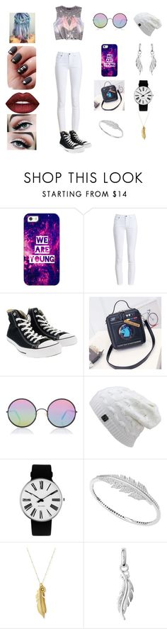 """Young wild and free"" by chelseastewart91977 ❤ liked on Polyvore featuring Forever 21, Casetify, Barbour, Converse, Sunday Somewhere, Rosendahl, Stephen Webster, Sequin and Lime Crime"