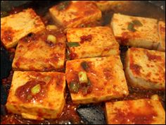 jorim recipe (Korean side dish)- the most delicious way to eat tofu? Tofu Recipes, Asian Recipes, Vegetarian Recipes, Cooking Recipes, Healthy Recipes, Korean Side Dishes, Side Dishes Easy, Oriental, Tofu Dishes