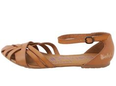 Vegan Shoes & Bags: Rode Ankle Strap Sandal by Blowfish in Sand