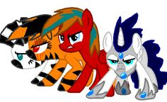 Awesome Pony drawing made by my friend Paronitar