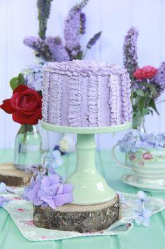 Tutorial tarta decorada con buttercream