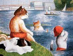 """""""A bathing to Asnières (Georges Seurat)"""" par Susan Herbert"""
