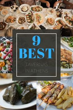 Best Tavernas in Athens - Locals & Travellers Reveal Their Favourite Foodie Hangouts : What are the Best Tavernas in Athens? We asked a few of our favourite Athens Locals & Frequent Travellers to Reveal Their Favourite Foodie Hangouts. Greece Vacation, Greece Travel, Greece Cruise, Athens Greece, Mykonos Greece, Crete Greece, Santorini, Athens Restaurants, Athens Food