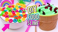 DIY Food Inspired SLIME! Crazy SLIME IDEAS You NEED TO TRY! How To Make ...