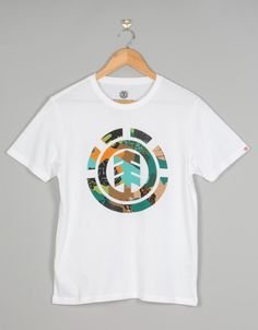 258618b0788f Element Cut Out Icon Boys T-Shirt - Optic White | Skate T-Shirts | Mens  Skateboard Tees | Clothing | Route One