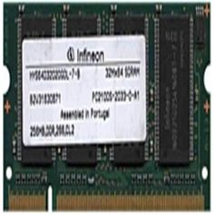 Infineon HYS64D32020GDL-7-B 256 MB SO-DIMM Memory Module - DDR SDRAM - 200-Pin PC-2100 - 266 MHz