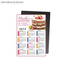 CA4 Calendar Magnet 148x213 mm