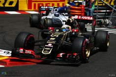 Romain Grosjean, Lotus, Monte-Carlo, 2015 - F1 Fanatic