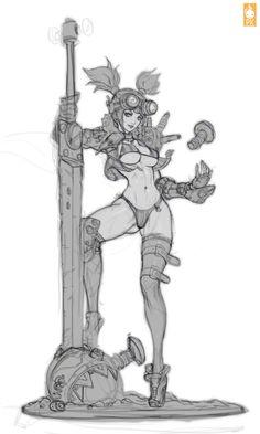 Sword Punk PK Zeronis by Zeronis.deviantart.com on @deviantART