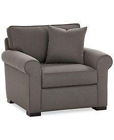 """Furniture Astra 79"""" Fabric Full Sleeper Sofa, Created for Macy's - Furniture - Macy's"""