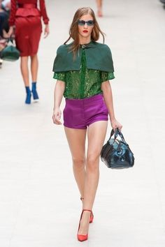 Burberry Prorsum - Primavera-Estate 2013 Collezioni - Londra - Sfilate di Moda - Elle