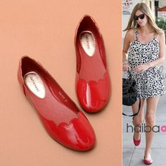 Street Simple Lace Soft Circle Head Flat Shoes
