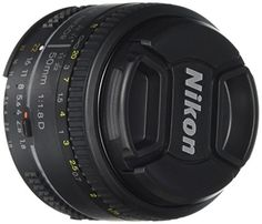 Nikon AF Nikkor 50mm 1:1,8D Objektiv (52mm Filtergewinde)
