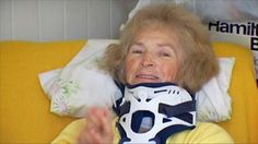 Awesome news!  Blind Woman Sees Again - After Falling.