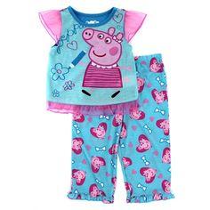 Komar Kids Polyester Sleepwear (Newborn - for Girls Toddler Pajamas, Girls Pajamas, Boys And Girls Clothes, Girls Pants, Toddler Outfits, Girl Outfits, Toddler Girls, Baby Girls, Peppa Pig Family