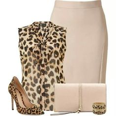 Love, but id lose the leopard shoes. You dont wanna wear too much of one print