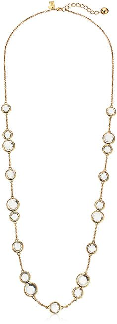 kate spade new york Crystal Confetti Long Necklace, 32'   2' Extender *** To view further for this item, visit the image link.