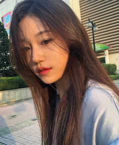Ulzzang Korean Girl, Cute Korean Girl, Bad Boy Aesthetic, Aesthetic Photo, Teenage Girl Photography, Korean Girl Fashion, Anime Art Girl, Hair Looks, Foto E Video