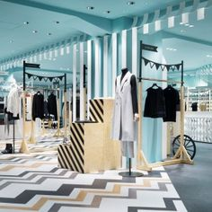 Nendo overhauls womenswear and hat departments at Seibu Shibuya