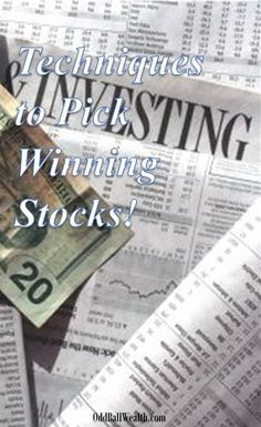 Picking strong companies to buy shares of stock can seem difficult. Learn proven methods on to make good picks. Managing Your Money, Make Money Blogging, Money Saving Tips, Money Tips, Ways To Save Money, How To Make Money, How To Start A Blog Wordpress, Finance Blog, Finance Tips