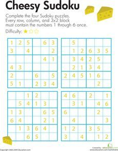 math worksheet : spooky sudoku  worksheets and math : Sudoku Worksheets
