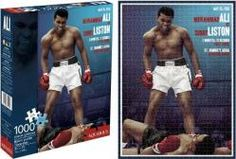Muhammad Ali vs. Sonny Liston jigsaw puzzle: 1000 piece 20x27 puzzle (Only $15.97)