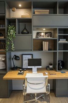 Cool Home Office Design Idea (91)