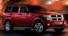 Dodge Nitro - Inferno Red Pearl