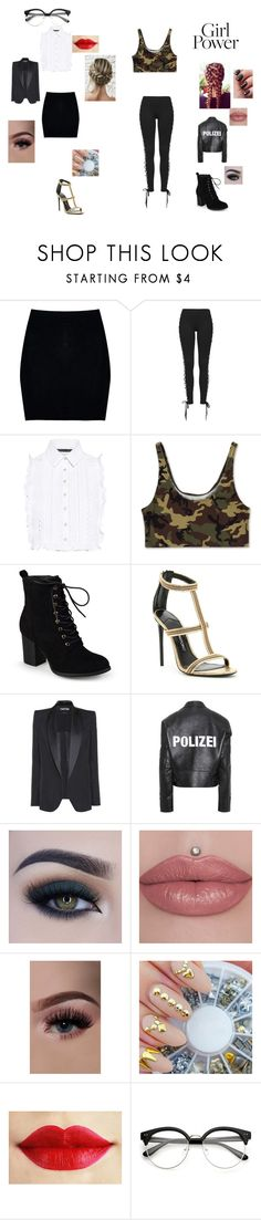 """""""Girl Powea"""" by fangirl-24 on Polyvore featuring Boohoo, Puma, Marissa Webb, Journee Collection, Tom Ford, Vetements and Too Faced Cosmetics"""