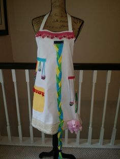 Busy Hands Apron! Perfect for an adult with Dementia or need to move their hands.