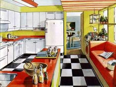 Servel Steel Kitchen Cabinets - some amazing features! - Retro Renovation