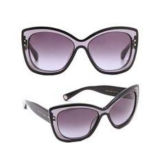 Marc Jacobs - Translucent Cat Eye Sunglasses