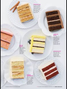 Wonderful Brides Magazine | Cake Flavors