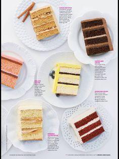 Brides Magazine |  Cake Flavors
